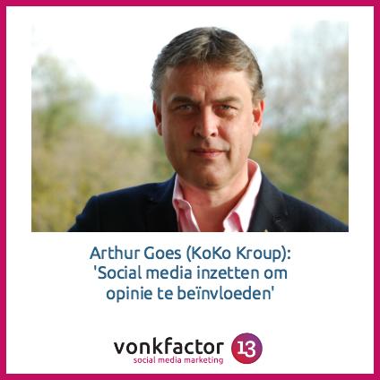 Vijf Vragen Aan… Arthur Goes (KoKo Kroup)