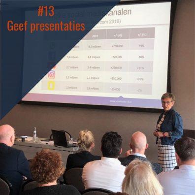 Tip #13 – Geef Presentaties