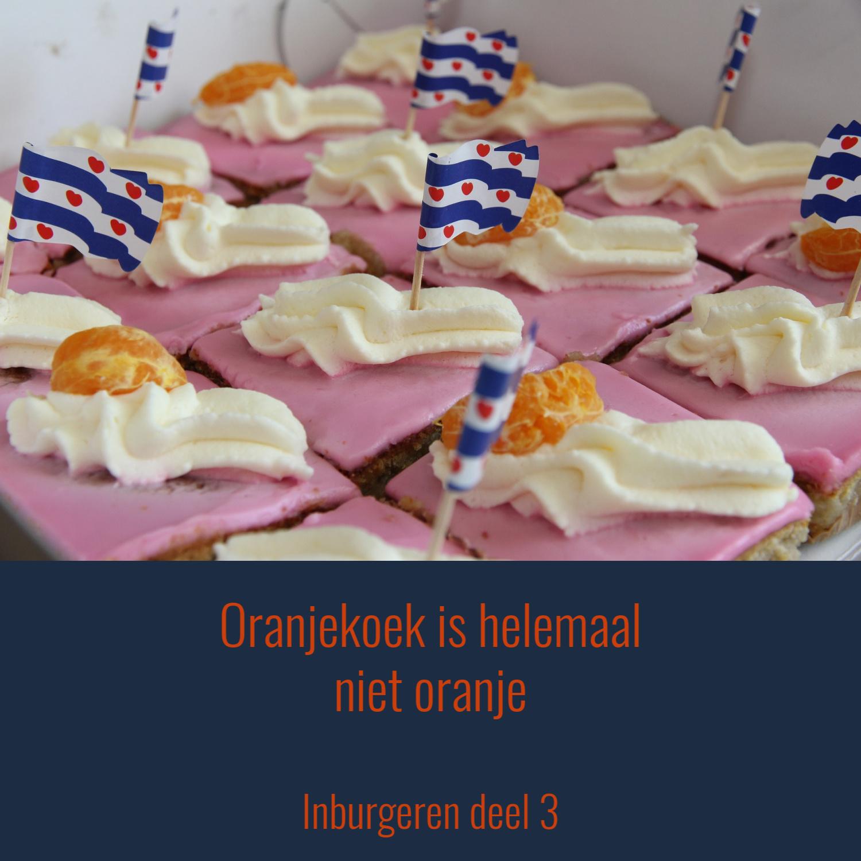 Oranjekoek Is Helemaal Niet Oranje… | Inburgeren Deel 3